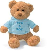 Baby Gift Idea G015418 Gund Its A Boy Teddy Bear by Baby Gift Idea