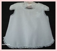 HER MAJESTY Girl Embroid White Full Petticoat S... - $14.85