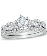 Women's 1.50 Ct Round Cut Cz Infinity Wedding R... - $39.99