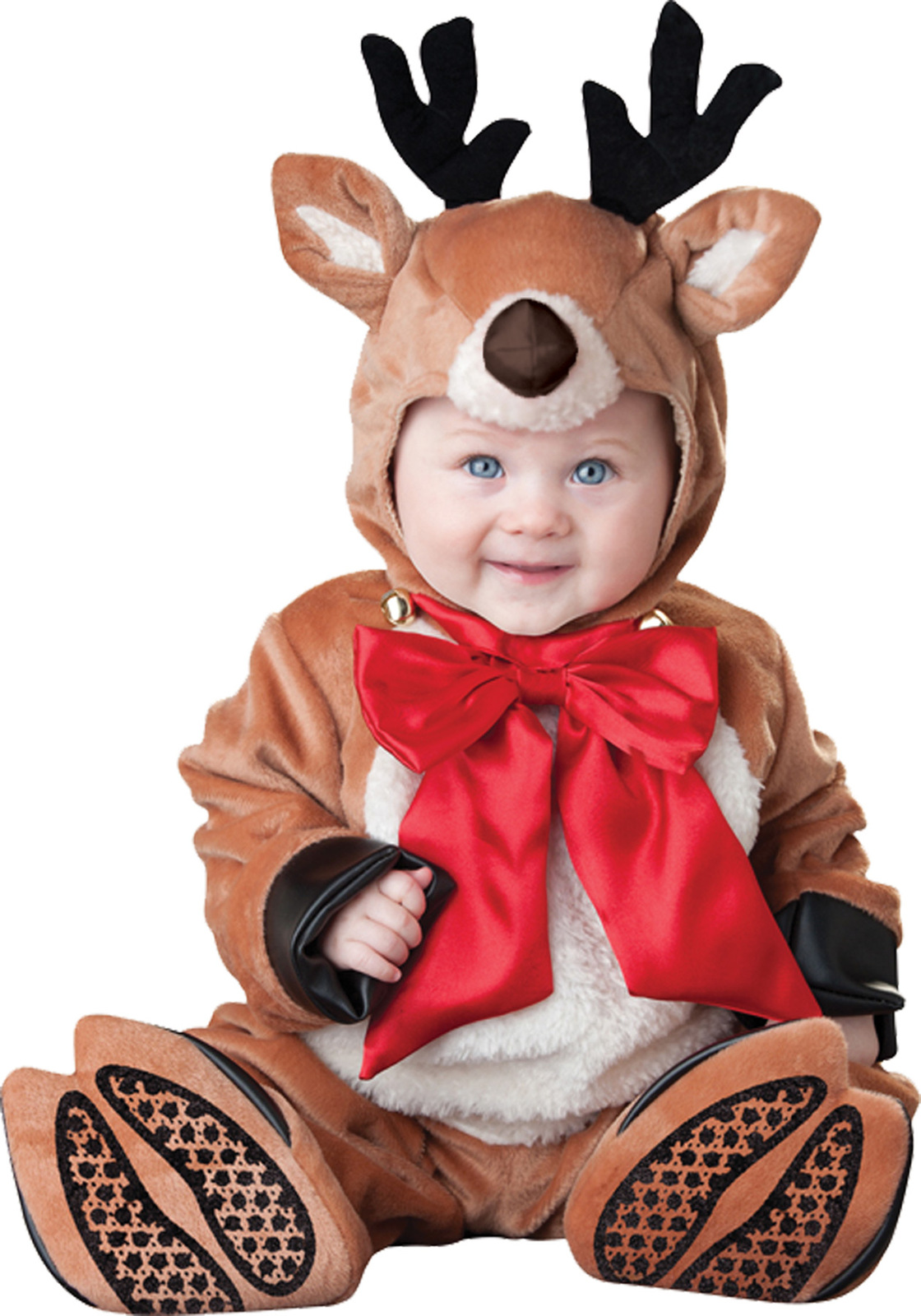 Baby Reindeer , Toddler Christmas Costume , 12 TO 18 MONTHS , Free Shipping