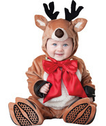 Baby Reindeer , Toddler Christmas Costume , 12 TO 18 MONTHS , Free Shipping - $941,26 MXN
