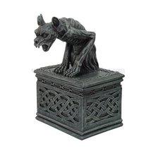 7 Inch Notre Dame Screaming Gargoyle Jewelry/Trinket Box Figurine - £22.88 GBP