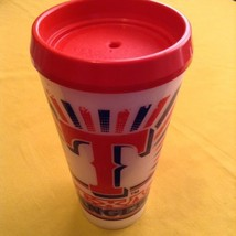 MLB Texas Rangers Thermo Serv tumbler 32 ounces insulated travel with lid  - $10.79