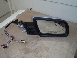 05 06 BMW 525I PASSENGER RIGHT POWER  DOOR MIRROR REAR VIEW ELECTRIC SILVER - $173.25