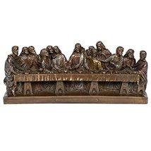 Last Supper with Jesus and His Apostles Statue Figurine La Ultima Cena d... - £28.06 GBP