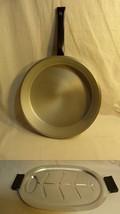 Fairbanks Ward USA 1950s Cast Aluminum Cookware 2 PC Set Fry Pan & Platt... - $45.99