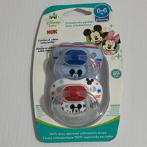 NUK Disney Baby Mickey Mouse Puller Pacifier, 0-6 Months   New - $9.49