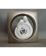 Circle of Love Pewter Finish Plaque/Figurine, b... - $14.00