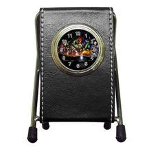 Star Wars Leather Pen Holder Desk Clock (2 In 1) - $17.99