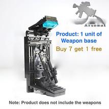Your MOC Gun equipment Arsenal Rack storage Custom Cabinet Army Forge fo... - $4.75