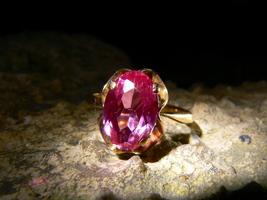 SIRIN DARK RUSSIAN DEMON UNLIMITED POWER Estate Ruby Gold Ring izida hau... - $9,990.00