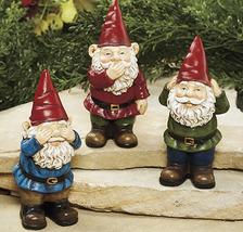 Set of 3 See, Speak, Hear Gnomes - $16.95