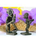 Vintage African Ashanti Brass Bronze Figurines Men Snake Gold Weights - €28,76 EUR
