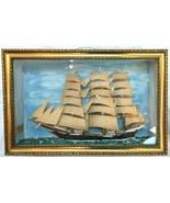 ANTIQUE 1838 Danish Brig FER NOT Ship Model DIO... - $3,800.00