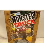 Boy Craft Build your Own Monster Truck AWESOME CRAFT FUN build,paint,sti... - $22.99