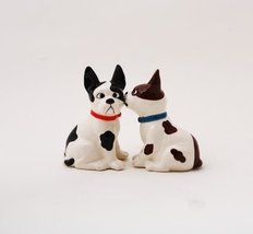 Funny Mutts Attractives Salt Pepper Shaker Made of Ceramic - $10.10