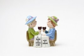 Magnetic Salt and Pepper Shaker - Whining Ladies - $15.44