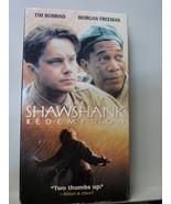 The Shawshank Redemption (VHS, 1995) Morgan Freeman Tim Robbins - $3.47