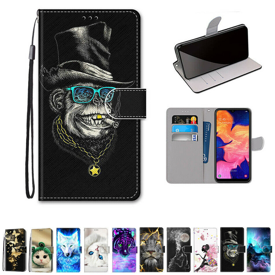 Primary image for For Samsung Galaxy A10 A10S A50 A70 A20S Case Pattern Wallet Leather Stand Cover