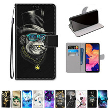For Samsung Galaxy A10 A10S A50 A70 A20S Case Pattern Wallet Leather Sta... - $64.67