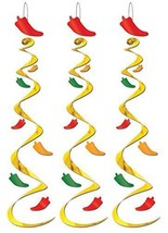 Cinco De Mayo Set of 3 Party Chili Pepper Decor... - $14.95