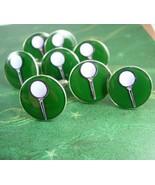 BUY 1 or 4 Wedding set Golf Cufflinks Vintage Golfing on the Green Men's... - $55.00