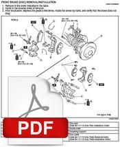 Mazda Protege 2001 2002 2003 Factory Service Repair Workshop Maintenance Manual - $14.95