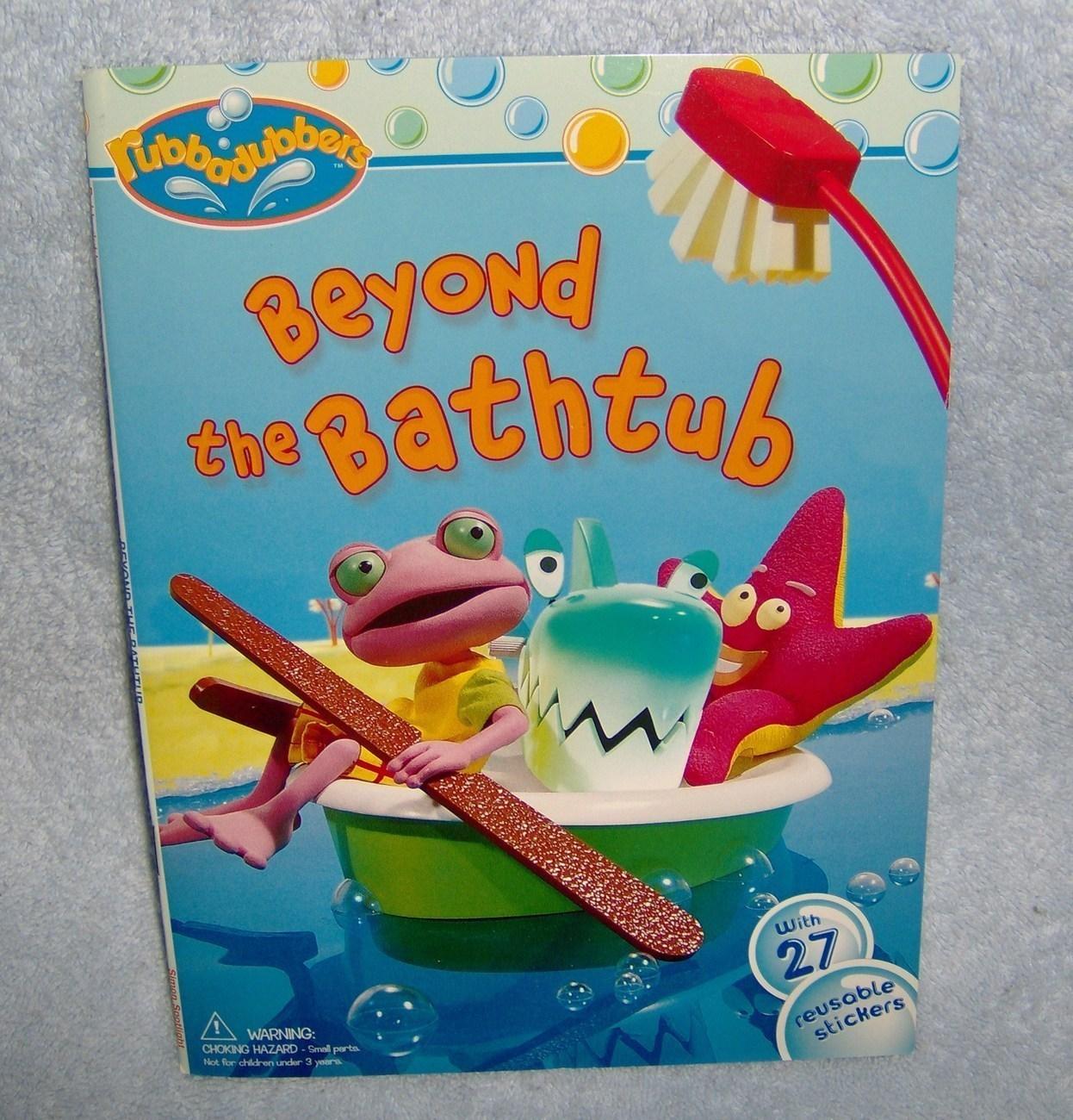 Beyond the bathtub   rubbadubbers childrens book stickers