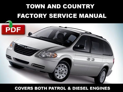 2006 2007 chrysler town and country service repair. Black Bedroom Furniture Sets. Home Design Ideas