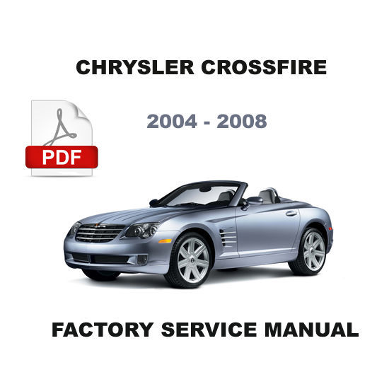 2004 2008 chrysler crossfire factory service repair. Black Bedroom Furniture Sets. Home Design Ideas