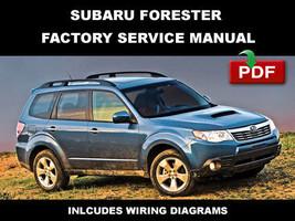 Subaru Forester 2009 Factory Service Repair Electrical Wiring Workshop Manual - $14.95