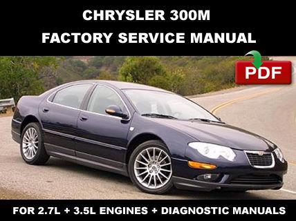 CHRYSLER 300M 1999 - 2004 FACTORY SERVICE REPAIR MANUAL ...