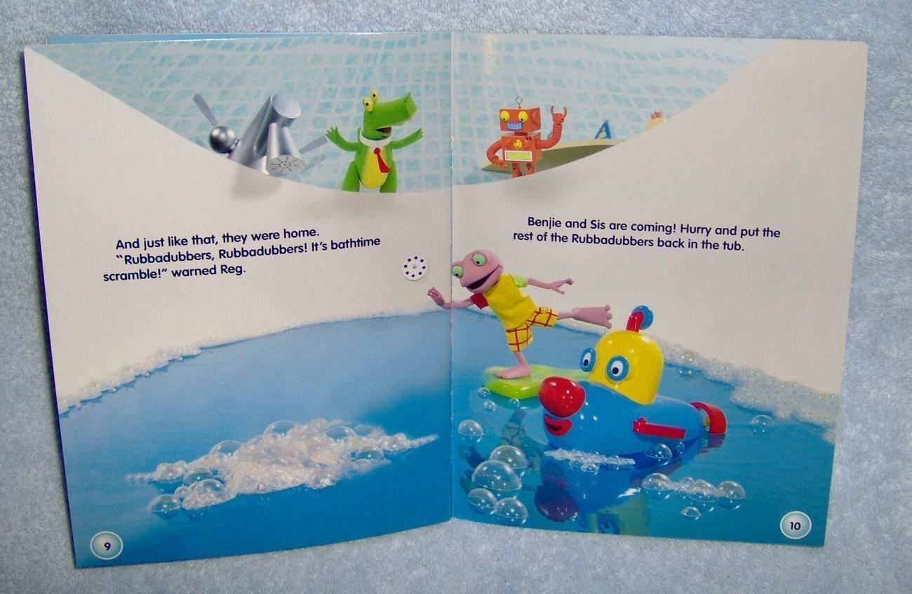 Beyond The Bathtub Rubbadubbers Sticker Book New Annie Auerbach