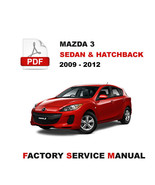 2009 2010 2011 2012 MAZDA 3 ULTIMATE FACTORY OEM SERVICE REPAIR WORKSHOP... - $14.95