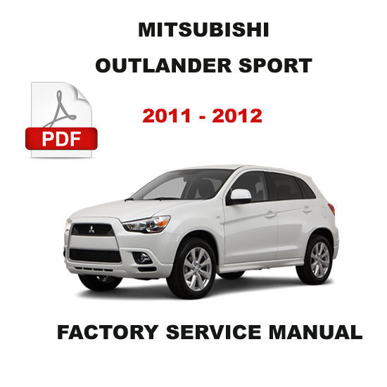 2012 mitsubishi outlander service manual