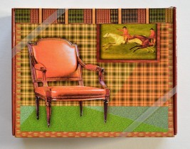 12 BLANK STATIONARY NOTE CARDS WITH ENVELOPES - CHAIR - $14.99