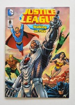 Justice League Walking on Fire - DC Comics - $6.50