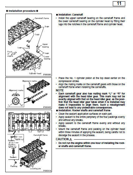 Mitsubishi 2007 Fuso Fe Series Truck 4m50-t8 Engine Oem Service Repair Manual