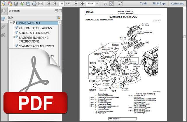 mitsubishi mirage 1991 1995 service repair workshop manual