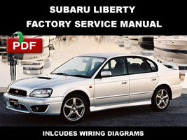 Subaru Liberty 1998   2003 Factory Oem Service Repair Workshop Shop Fsm Manual - $14.95