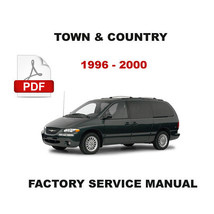 CHRYSLER TOWN & COUNTRY 1996 - 2000 SERVICE REPAIR FSM MANUAL + WIRING D... - $14.95