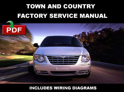 chrysler town and country 2006 2007 service repair. Black Bedroom Furniture Sets. Home Design Ideas