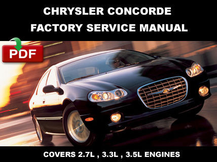 chrysler concorde 1998 2004 factory service and similar items rh bonanza com