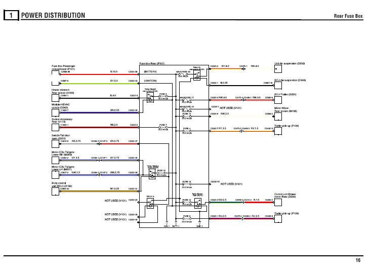 range rover iii l322 2002 - 2006 oem service manual   electrical circuit diagram