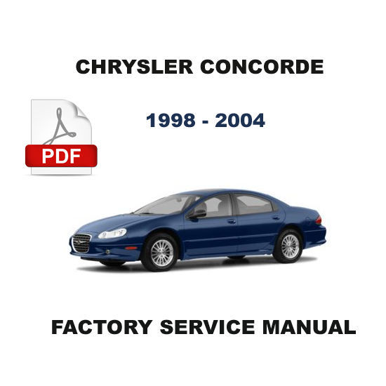 1998 2004 chrysler concorde factory oem service repair. Black Bedroom Furniture Sets. Home Design Ideas