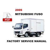 2005 MITSUBISHI FUSO FE83 FE84 FE85 FG84 FK61 FM61 FM64 SERVICE REPAIR M... - $14.95