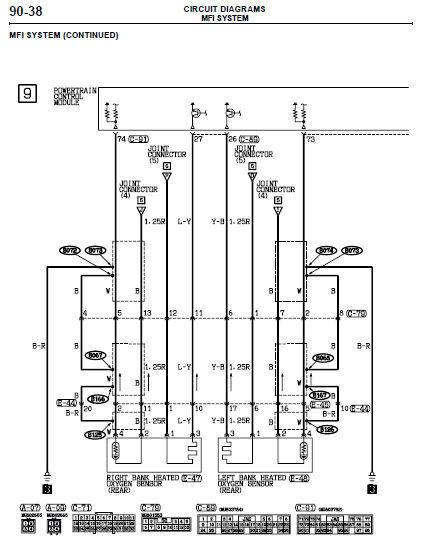 2000 2001 2002 2003 2004 mitsubishi montero sport factory 2001 mitsubishi montero sport electrical diagram
