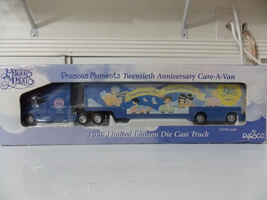 1998 Precious Moments 30th Anniversary Car-A-Van Die Cast Truck  - $35.00