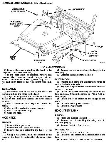 jeep wrangler tj wiring harness diagram jeep wrangler tj 1997 - 2006 service repair workshop fsm ...