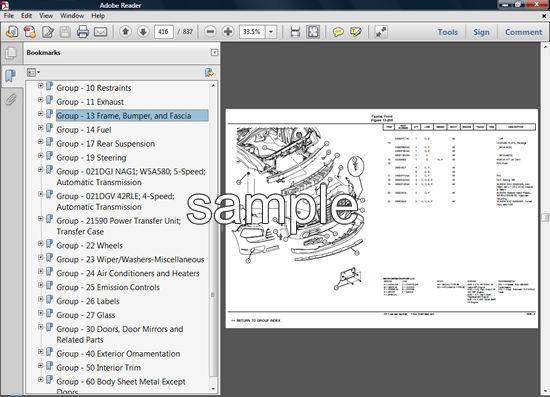 chrysler grand voyager manual pdf